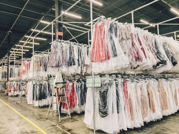 Rent the Runway's Secaucus NJ warehouse
