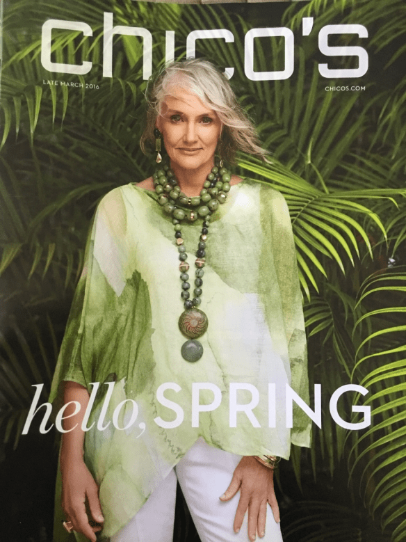 Happy Spring, Cindy Joseph! Chico's Campaign