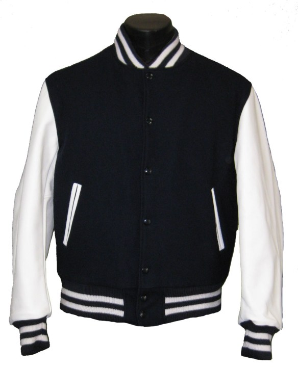"The elusive ""get"" for a teenager: the Varsity Jacket"