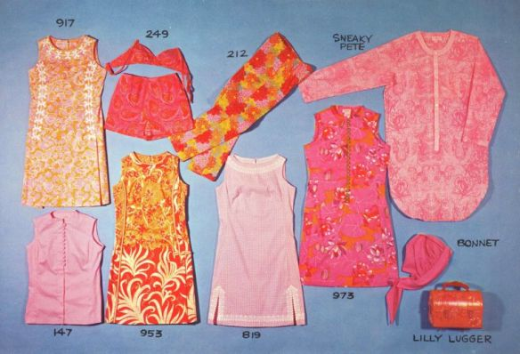 The original rollout of the Lilly Pulitzer Collection, circa 1960