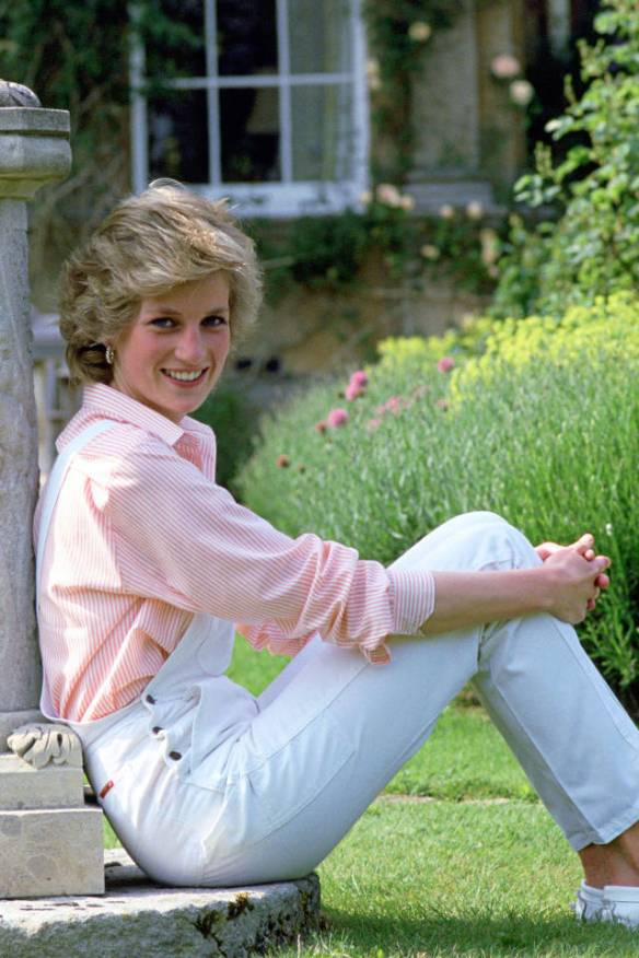 Princess Diana made overalls sexy