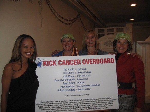Ceylone - Spokesperson for Kick Cancer Overboard