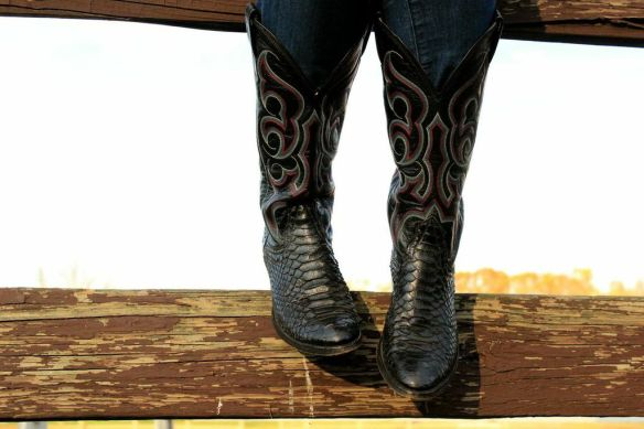 My 30 year-old authentic cowboy boots - Photo by Sophie MacMillan
