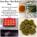 Green Beans for Dogs, a Puréed Veggie Paws Recipe