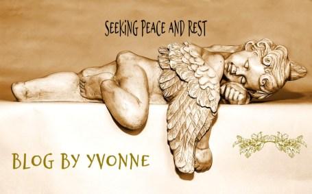 Finding Rest in Christ Seeking peace Blog by Yvonne Poem Seeking peace and rest
