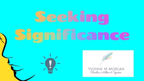 Seeking Significance