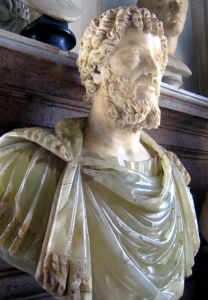 A Bust of Septimius Severus