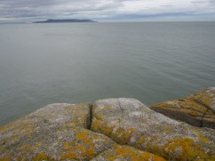The view of Dublin Bay from the big rock