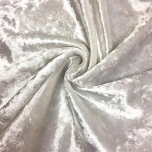 Pipe Pocket White Panne Velour White Panne Crushed Velvet Sample Swatch For Turn of Events Rental Drapery Las Vegas