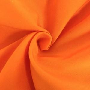 Pipe Pocket Neon Fluorescent Orange Polymuslin Sample Swatch For Turn of Events Rental Drapery Las Vegas