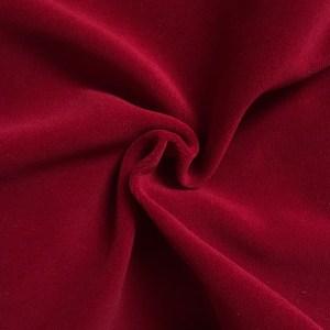 Pipe Pocket Red Velour Red Velvet Sample Swatch For Turn of Events Rental Drapery Las Vegas