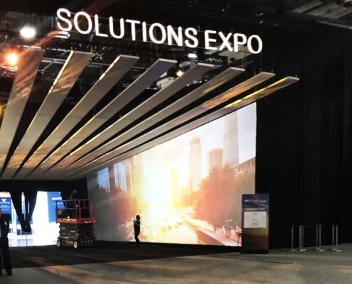 Las Vegas Projection Screen Rental and Purchase from Turn of Events Las Vegas