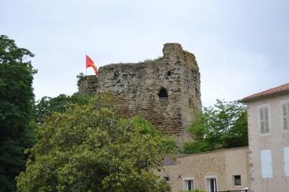 Castle at Talmont St Hilaire