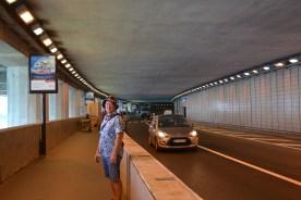 Inside the grand prix tunnel