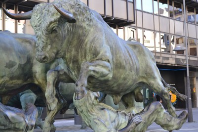 Up close and personal with the bulls of Pamplona