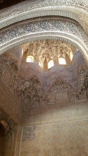 Ceilings in the Nasrid Palace, Alhambra