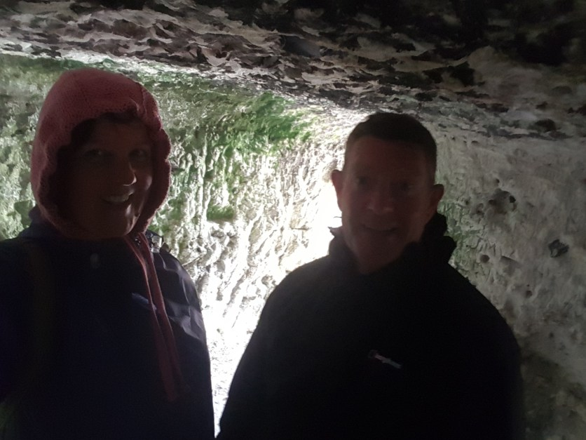 We found a cave!