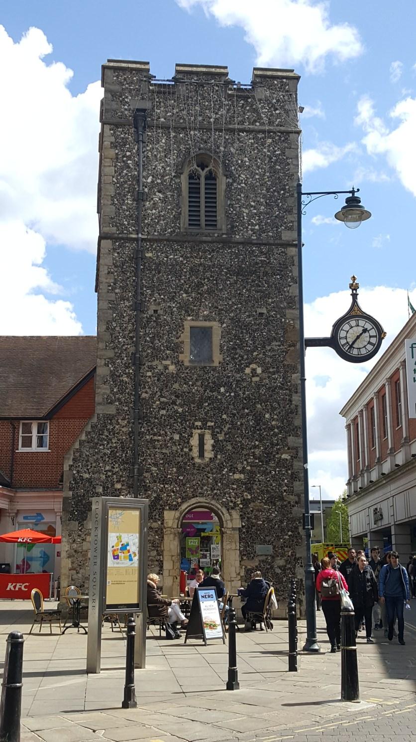 Clock Tower at Canterbury