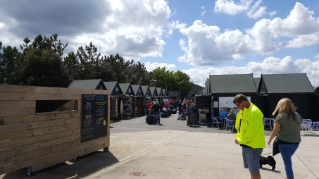 The Whitstable Harbour stalls