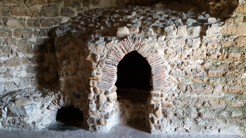 The Bakery on the roof of Orford Castle
