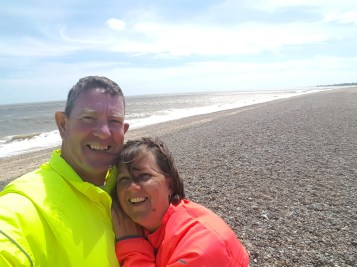 On the beach at Thorpeness
