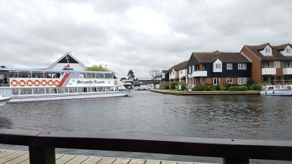 Wroxham from the ancient bridge