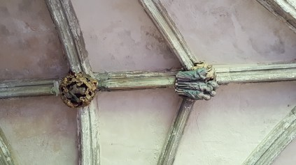 Bosse in the cloisters of Norwich Cathedral