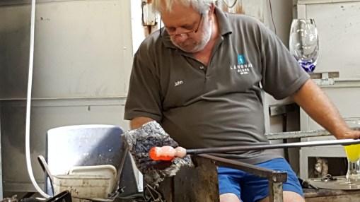 Shaping an ornamental owl