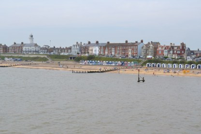 View from the end of the pier at Southwold