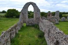 Leiston Abbey ruins