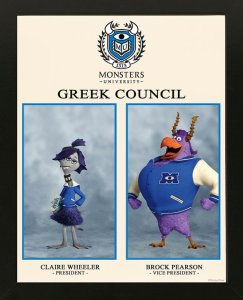 Pixar Monsters University Greek Council