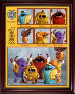 Pixar Monsters University Jaws Theta Chi Fraternity