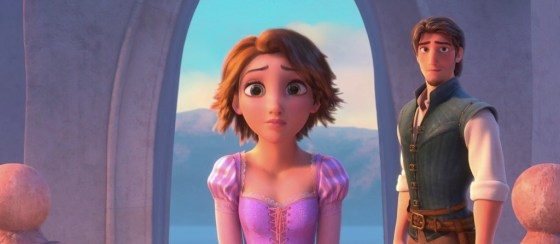 Disney Tangled Rapunzel Brown Hair