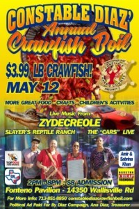Constable Diaz Annual Crawfish Boil