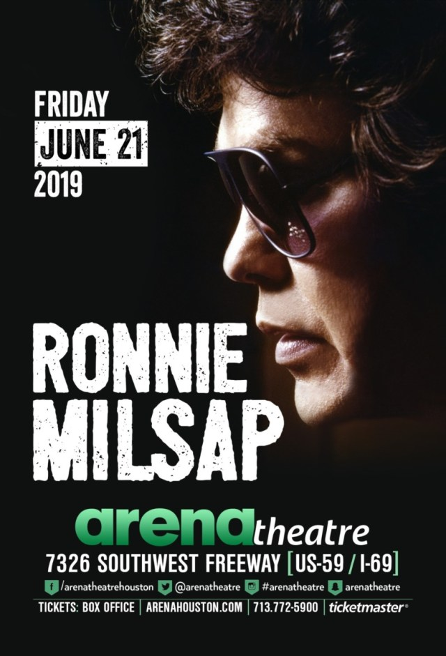 Ronnie Milsap at Arena Theatre