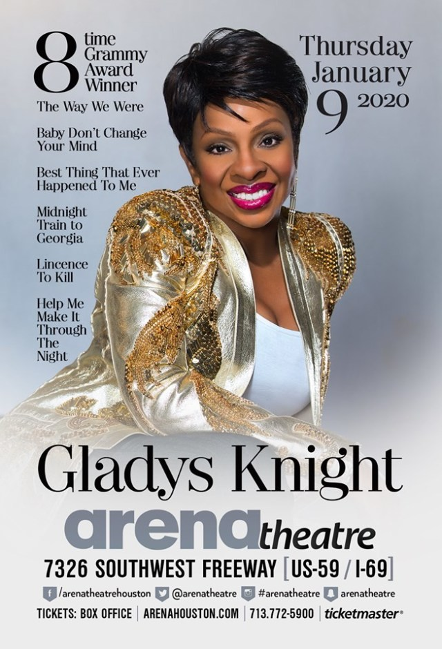Gladys Knight at Arena Theatre