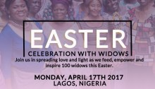 Easter Celebration With Widows