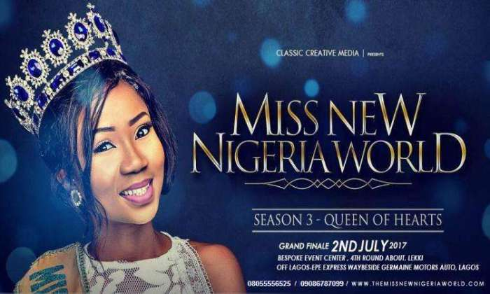 Miss New Nigeria World Season 3