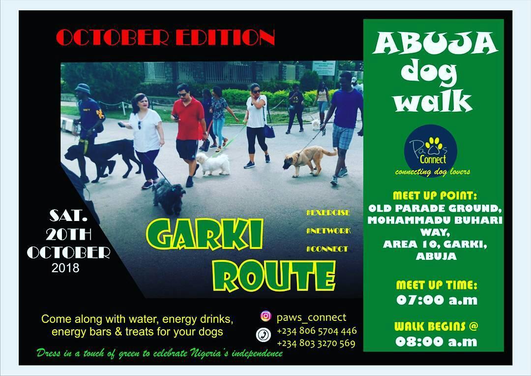 Abuja Dog Walk