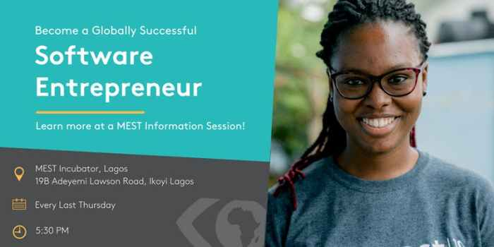 MEST Africa Information Session (Lagos)