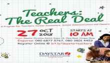 Teachers: The Real Deal
