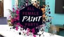 All Female Paint Party