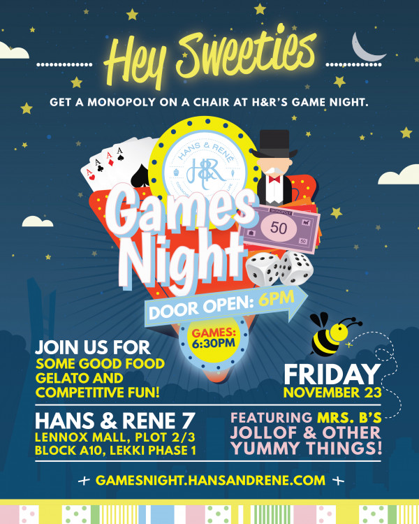 Hans & Rene Games Night