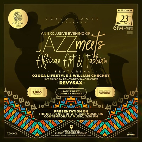 Jazz Meets African Art & Fashion