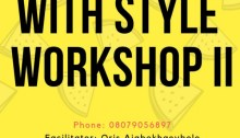 The Write with Style Workshop with Oris