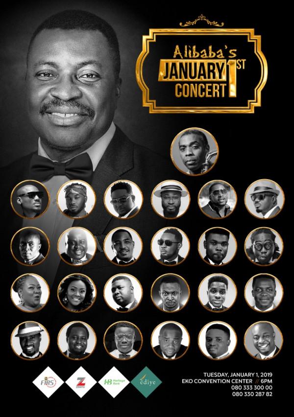 Alibaba's January 1st Concert