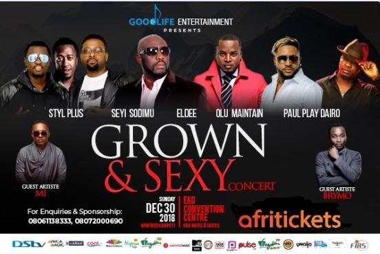Grown & Sexy concert