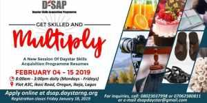 Daystar Skill Acquisition Program