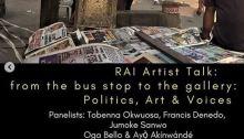 RAI Artist Talk