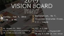 2019 Vision Board Party